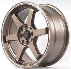 new stok Velg Mobil Palang 6 Ring 16 HSR TOKYO Lubang Pcd 4x100/114,3