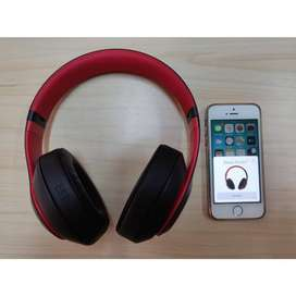 Headphone Bluetooth Beats Studio 3 Wireless - Black-Red
