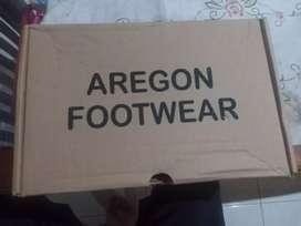 Sepatu sneakers Aregon full black