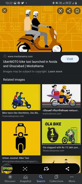 Earn upto 1000 to 1400 daily in ola bike
