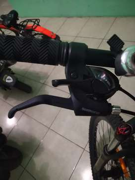 Jual groupset Shimano Tourney 7 speed second like new
