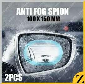 Stiker anti fog anti air anti hujan