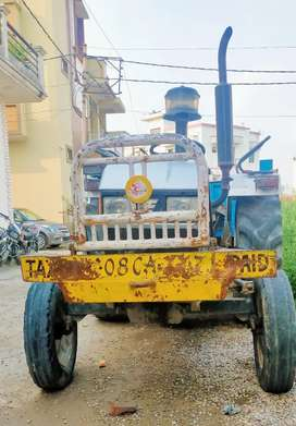 Eicher Tractor with trolley