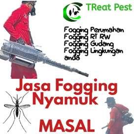 Fogging Kampung agar bebas nyamuk dbd