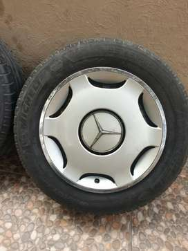 Mercedes Benz Rims tyres and wheel cup