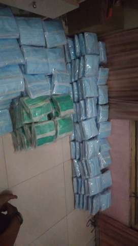 Ready masker no merk no box stok 156pack