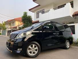 TDP125JT-Alphard 3.5 V6 (276hp) Black ATPM 2008/2009 Black On Beige !!