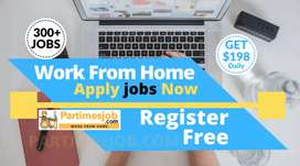Work for home apply jobs now