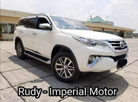 Toyota Fortuner Vrz 2.4 AT 2016 Km 49Rb Pajak Panjang Plat Genap