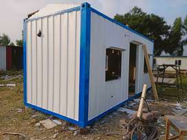 ISO Container site camp caravan container with indoor water supply