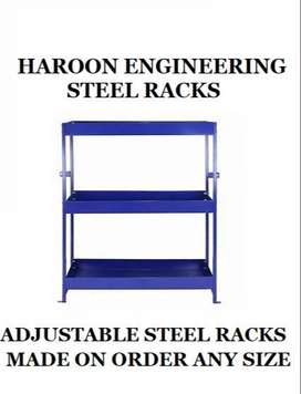 Steel Racks available in all sizes for any purposes