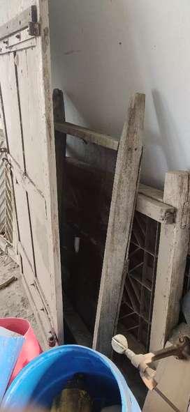 2 windows and 1 door
