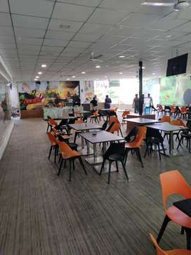 Reception job in cafe