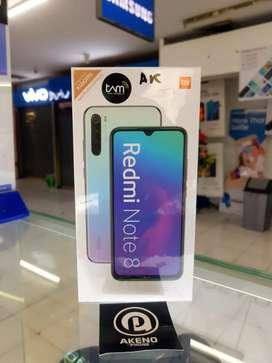 #9 redmi note 8 4/64 GB new mulus barang baru
