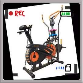 promo sepeda statis kardio  orbitrek crosstainer R-677 alat fitnes