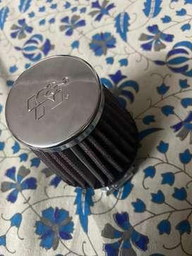 K&N AIR FILTER FOR ANY BIKE (ORIGINAL PRODUCT)