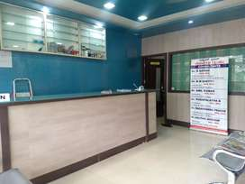 To maintain reception and pharmacy