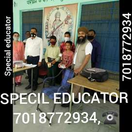 Contect For special educator MR, HI, speech disorder
