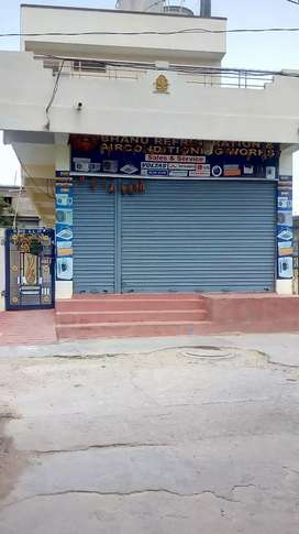 A newly builded shop with building for sale at nalgonda