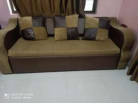 Sofa cum bed for sale with storage facility