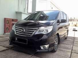 Nissan Serena HWS Facelift Km 60rb 2015 Hitam 2.0 Highway Star