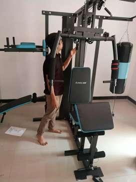 Gress New Home gym 3 sisi +samsak terlengkap class komersil