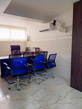 FULLY FURNISHED AC OFFICE SPACE 25 WORK STATION MANAGER CABIN