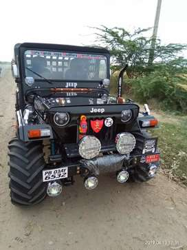 Guru Nanak Jeep modified