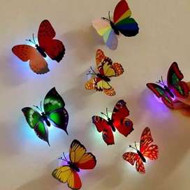 LED Butterflies ( 3 Pieces)