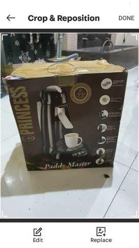 coffee maker belum pernah pakai
