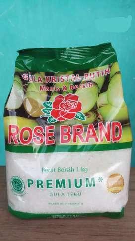 Gula Pasir Rose Brand 1 KG dan GMP 1 KG