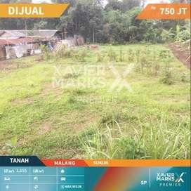 Dijual Tanah Sukun Kota Malang , Lingkungan Nyaman , Strategis