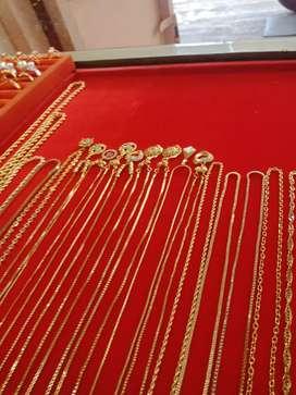 Menerima emas dan berlian tanpa surat