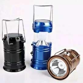 Lampu Solar Emergency Camping Lentera Tarik