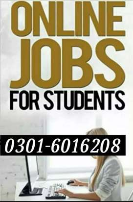 Online jobs for students(Male and female staff required)