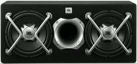 PROMO JBL 2 Mata Woofer Bass Aktif + Power + Pemasangan