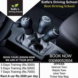Learn driving in lowest rates