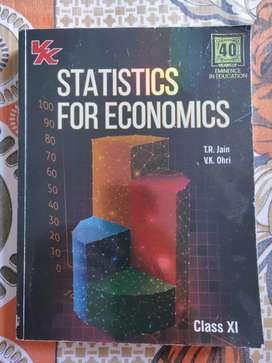 Statistics for economics class 11 (T.R.JAIN)