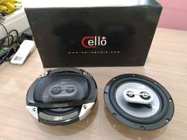 "speaker 6"" 3way coaxial cello original buat pecinta sound quality"