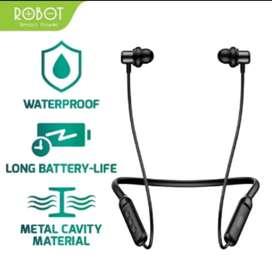 Headset bluetooth 5.0 robot original sport