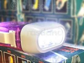 Lampu senter pompa tangan - Lampu senter praktis