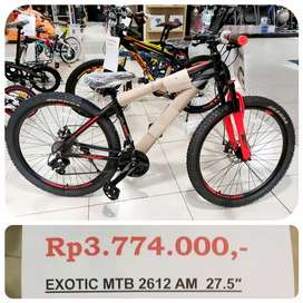 "Facific Exotic MTB 2612 AM 27.5"" Bisa di cicil"