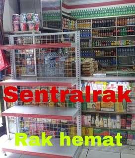 rak gondola src hemat murah supermarket minimarket