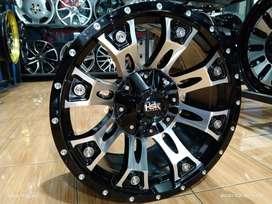 Velg racing mobil ford everest ring 17 HSR pcd 6x139,7