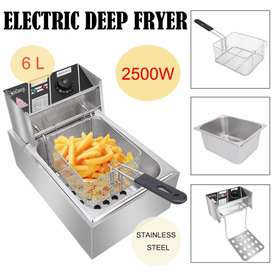 Electric Professional Stainless Steel Deep Fryer, Baking Oven, mixer