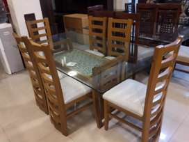 Dining table with six chairs 051