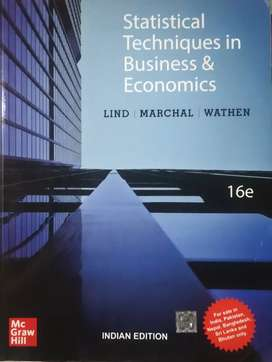 Statistical Techniques in Business and Ecnomics