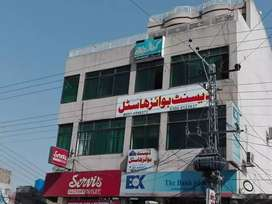 Bank of Khyber for rent Gadwal Plaza near Christian Hospital Taxila