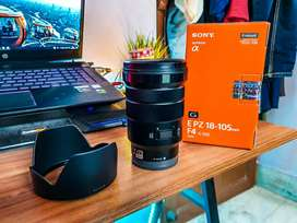 Sony 18-105 F4 OSS and Sigma 30mm 1.4 both 4 month old Unused