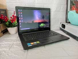 Laptop Lenovo G40-45 AMD A8 RAM 4GB/500GB Dual VGA Siap Pakai Garansi